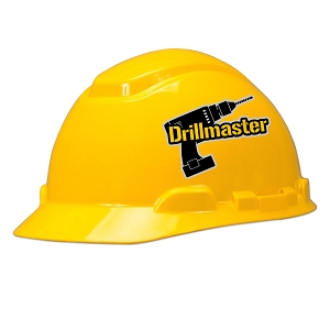 Drill Master Hard Hat Helmet Sticker